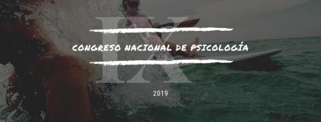 Congreso Nacional de Psicología 2019